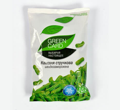 «Green beans» Deep frozen vegetables and fruits