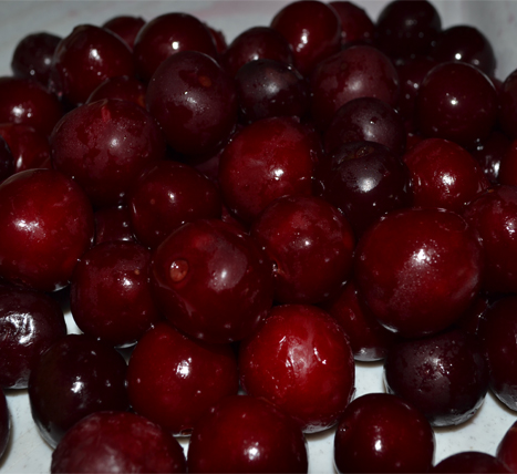 «Cherries, sold by weight» Deep frozen vegetables and fruits